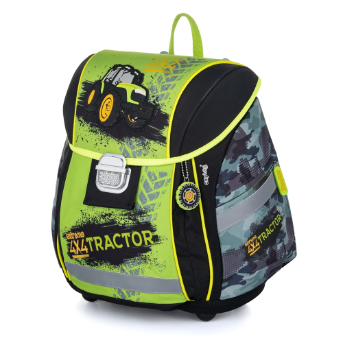 KARTON PP - Školský batoh PREMIUM LIGHT traktor