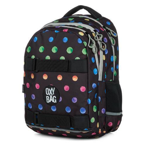 KARTON PP - Študentský batoh OXY One Dots Colors