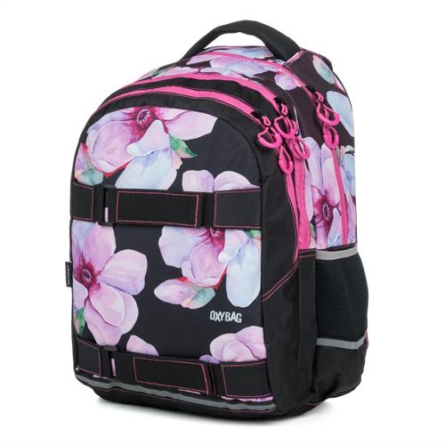 KARTON PP - Študentský batoh OXY One Floral