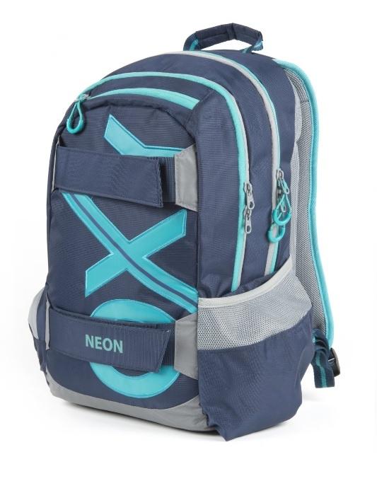 KARTON PP - Študentský batoh OXY Sport BLUE LINE Tyrkys 46cm