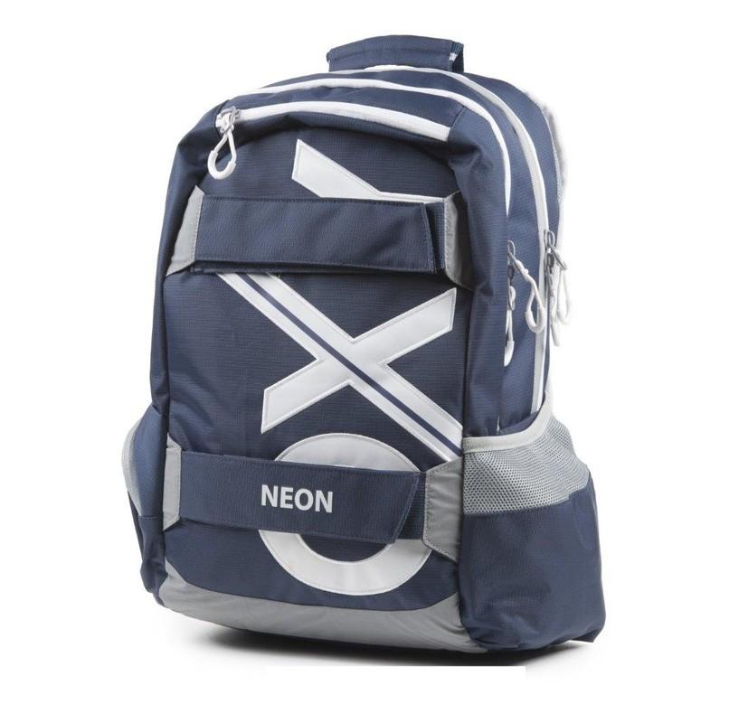 KARTON PP - Študentský batoh OXY Sport BLUE LINE White 46cm