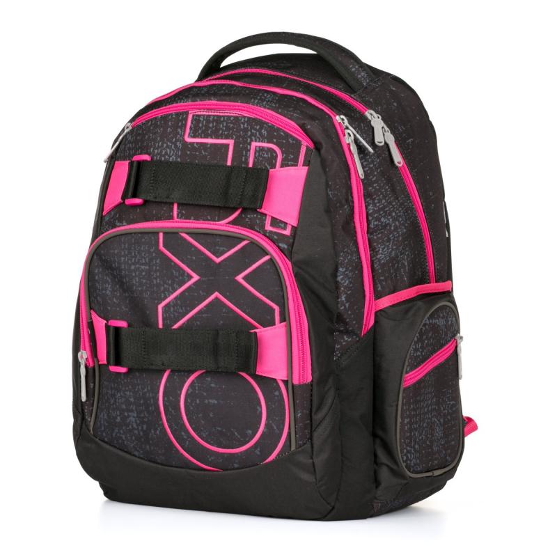 KARTON PP - Studentský batoh Oxy Style Dip Pink