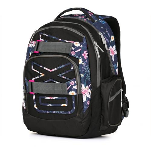KARTON PP - Študentský batoh OXY Style Flowers