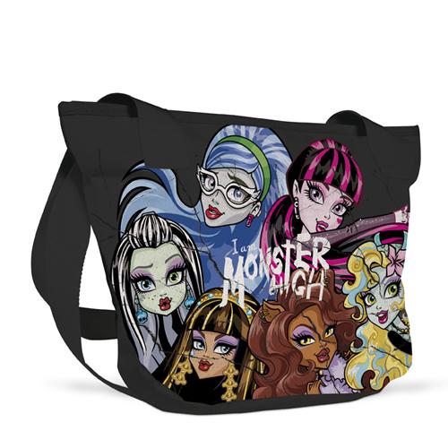 KARTON PP - Taška na rameno Style Monster High + darček