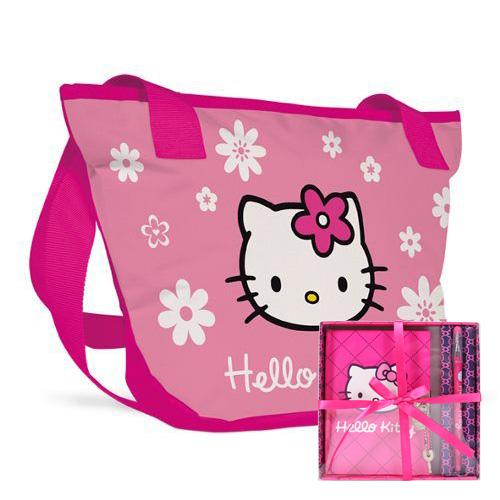 KARTON PP - Taška na rameno veľká Hello Kitty Kids + darček