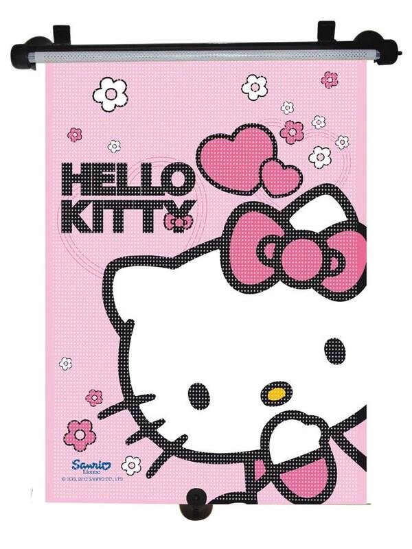 KAUFMANN - Slnečná roleta do auta Disney Hello Kitty
