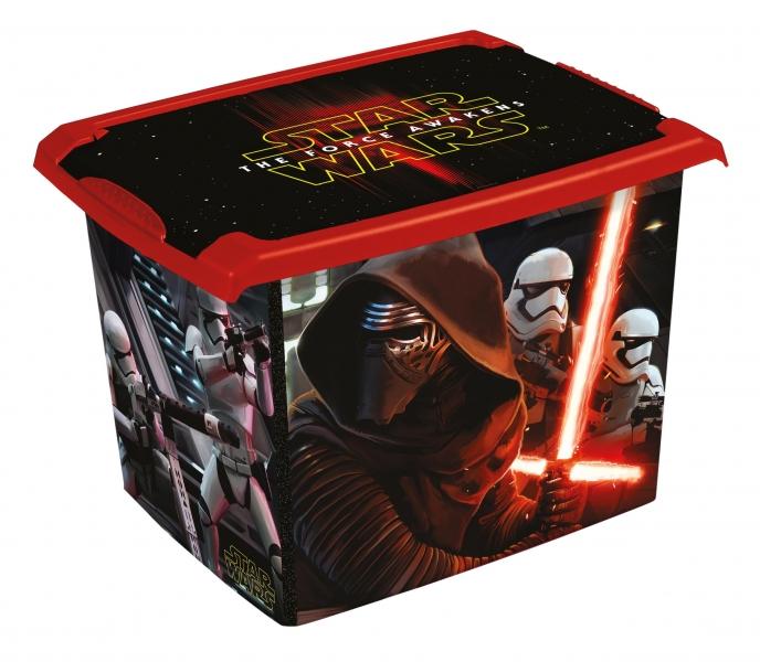 KEEEPER - Box dekoratívny Star Wars 20,5 l - čierny