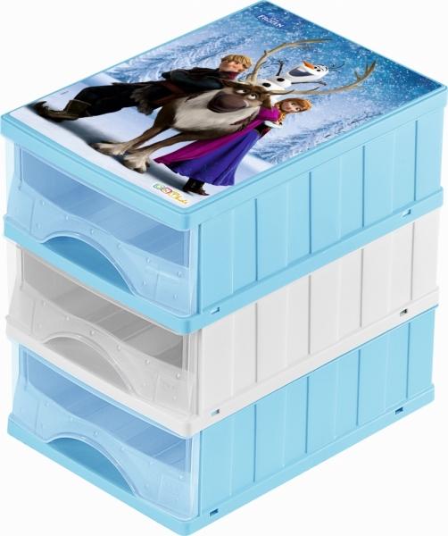 KEEEPER - Boxy na hračky - zásuvky Frozen