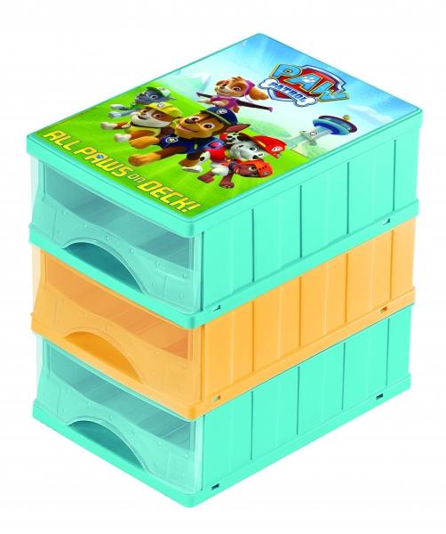 KEEEPER - Boxy na hračky - zásuvky Paw Patrol