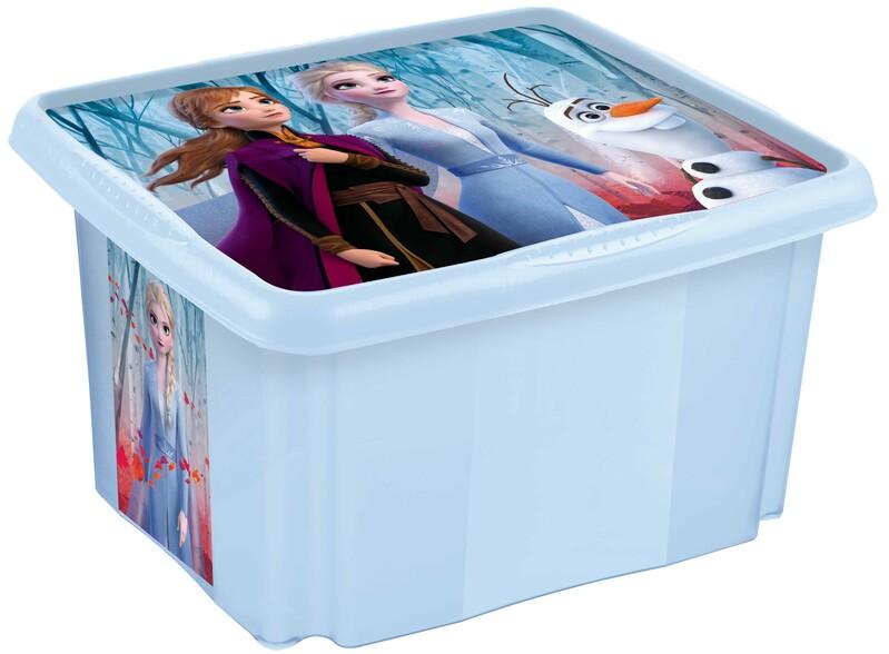 """KEEEPER - Úložný box s vekom """"Frozen"""", Frozen II"""