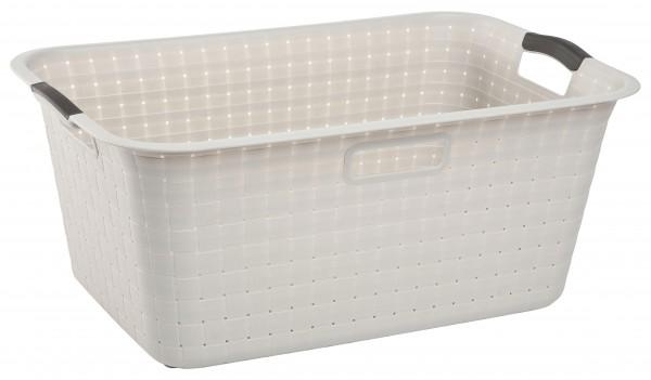 KETER - Kôš Umelá hmota na čisté prádlo 40L biely