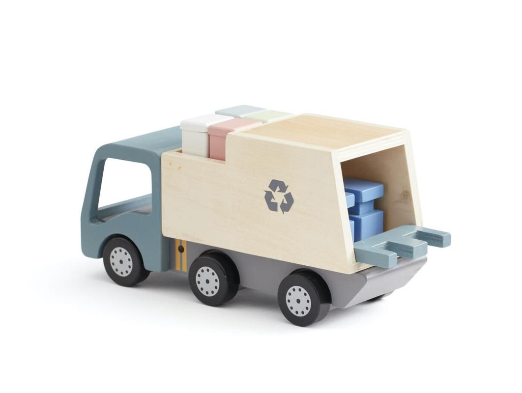 KIDS CONCEPT - Smetiarské auto Aiden drevené