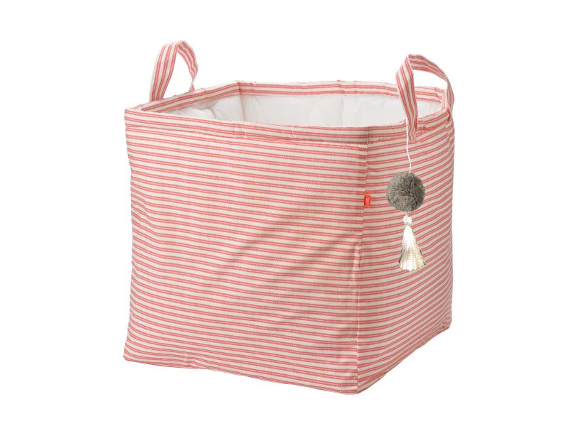 KIKADU - Box na hračky ružový