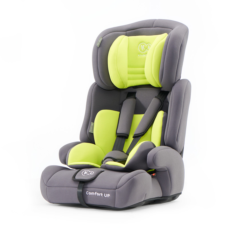 KINDERKRAFT - Autosedačka Comfort Up Lime 9-36kg 2019