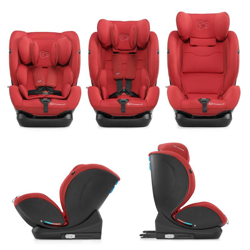 KINDERKRAFT - Autosedačka MyWay Isofix red 0-36kg 2019/2020
