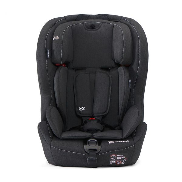 KINDERKRAFT - Autosedačka SAFETY-FIX Isofix Black 9-36kg 2019