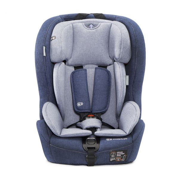 KINDERKRAFT - Autosedačka SAFETY-FIX Isofix Navy 9-36kg 2019