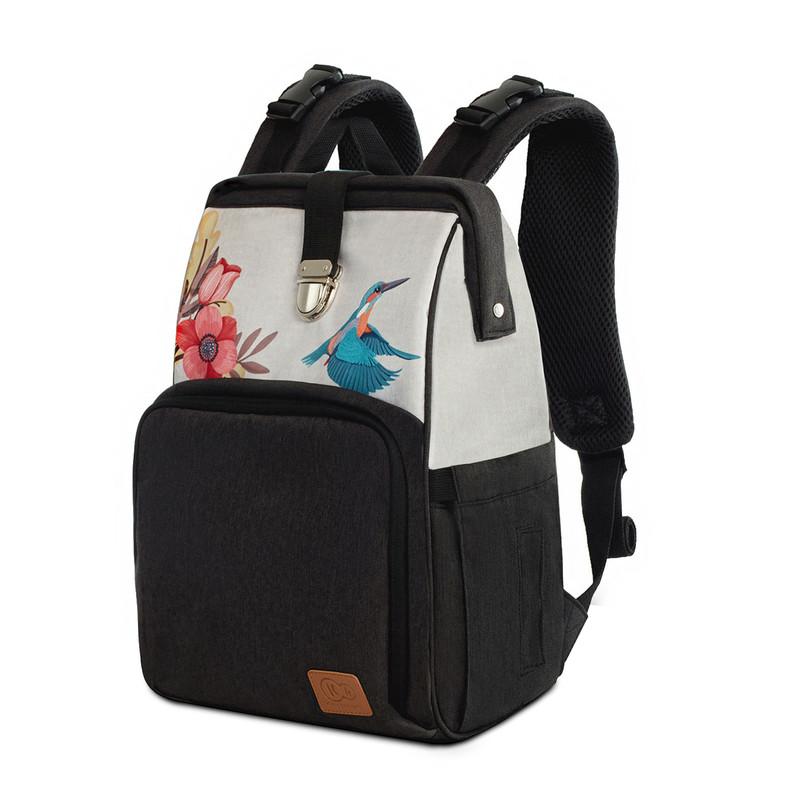 KINDERKRAFT - Taška prebaľovacia/batoh Molly Bird