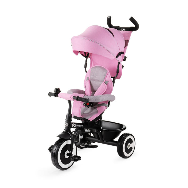KINDERKRAFT - Trojkolka ASTON pink Kinderkraft