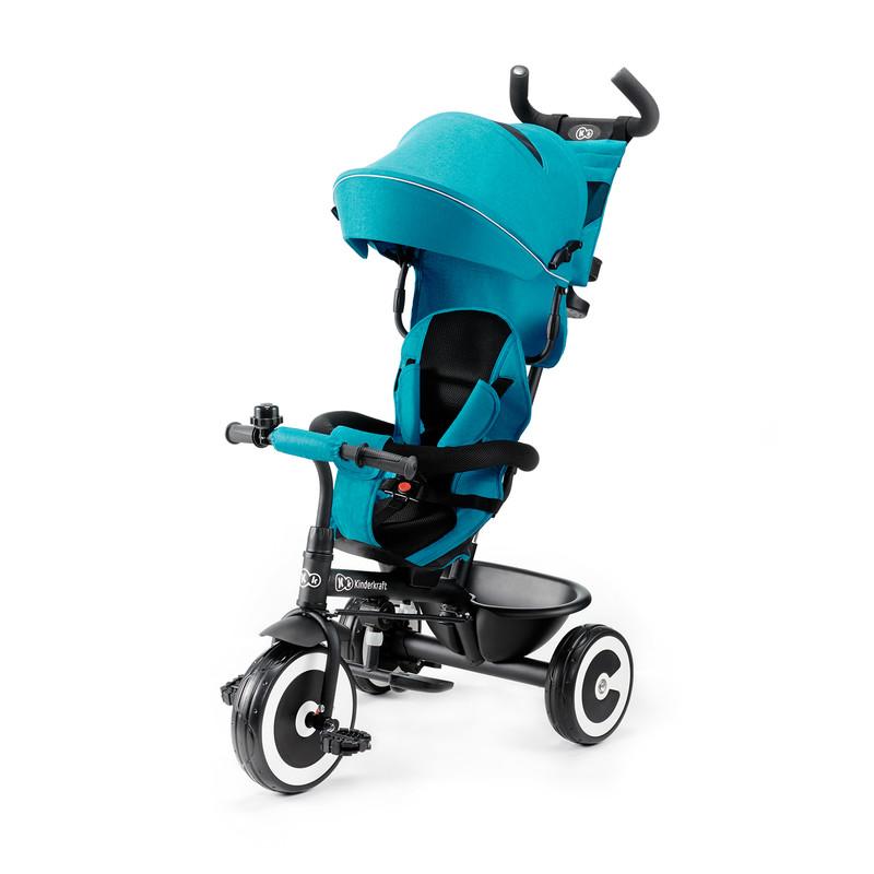 KINDERKRAFT - Trojkolka ASTON turquoise Kinderkraft