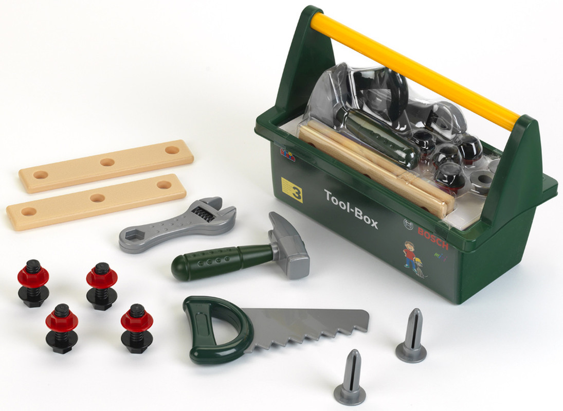 3e67753254876 KLEIN - BOSCH Tool-Box s náradím
