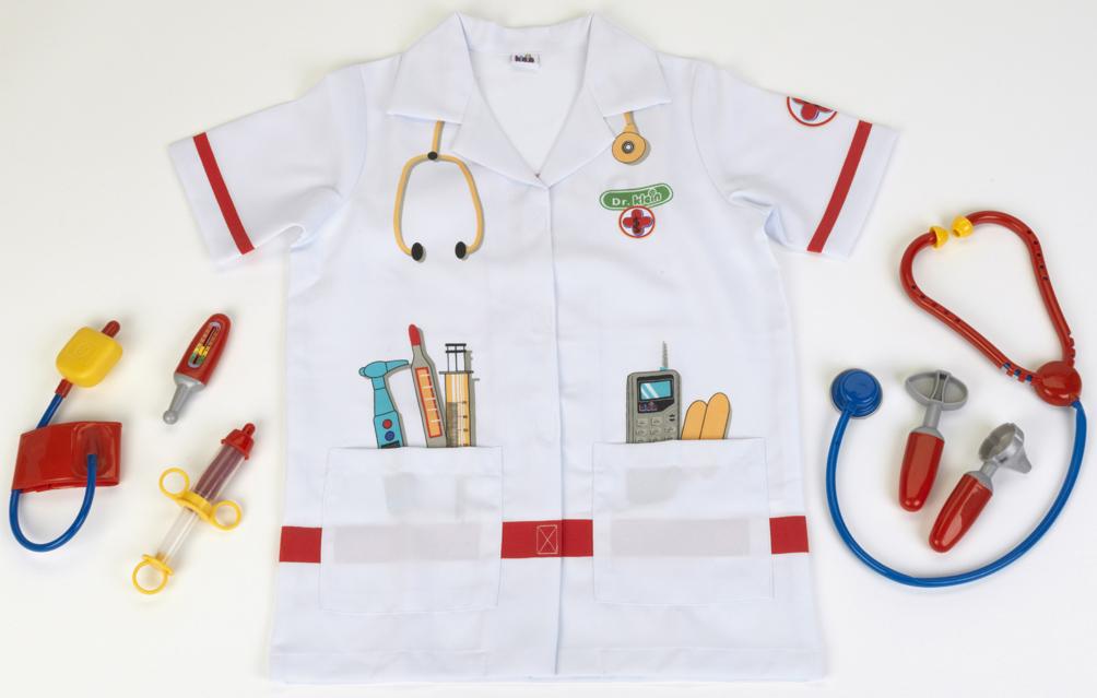 KLEIN - doktorský oblek s doplnkami