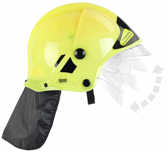 KLEIN - Hasičská Helma, Žltá