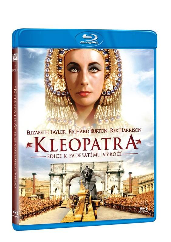 Kleopatra 2BD - Edice k 50. výročí Blu-ray