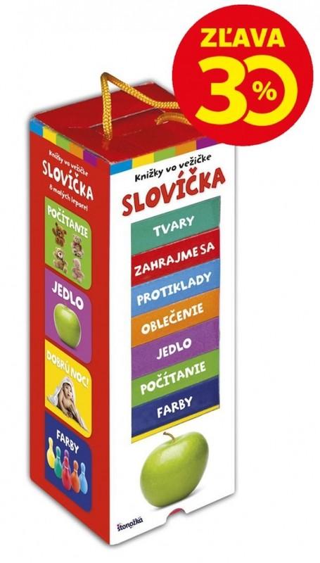 Knižky vo vežičke – Slovíčka, 2. vydanie - Kolektív