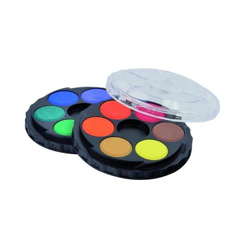 KOH-I-NOOR - Farby vodové okrúhle, sada 12 ks