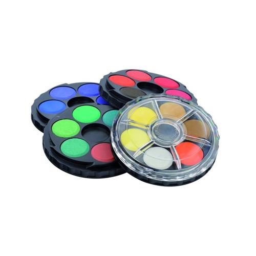 KOH-I-NOOR - Farby vodové okrúhle, sada 24 ks