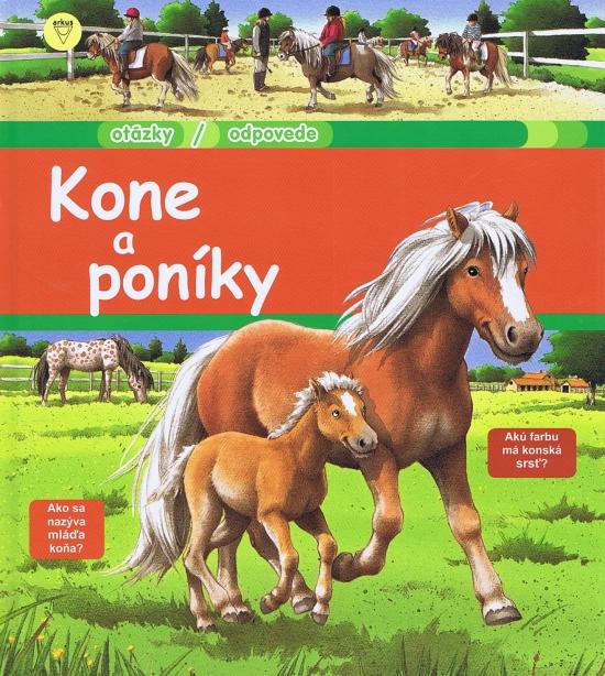 Kone a poníky - Anne-Sophie Baumann,
