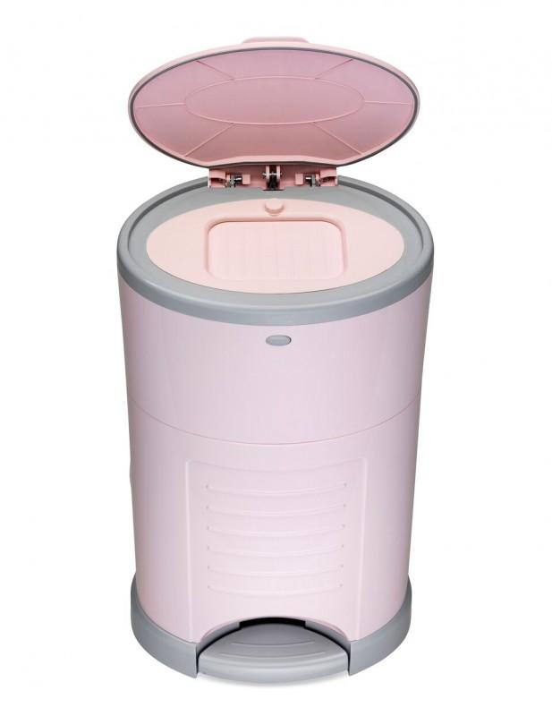 KORBEL - Kôš na plienky New - Pink