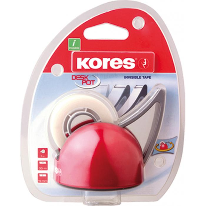 KORES - Lepiaca páska s odvíjačom KORES Deskpot