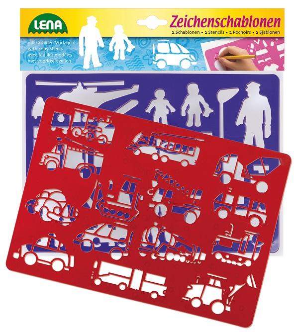 - Kresliace šablóny (dopravné prostriedky)