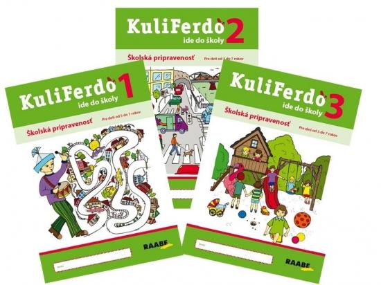 Kuliferdo ide do školy ( kompet 1-3 ) PZ - Kolektív autorov