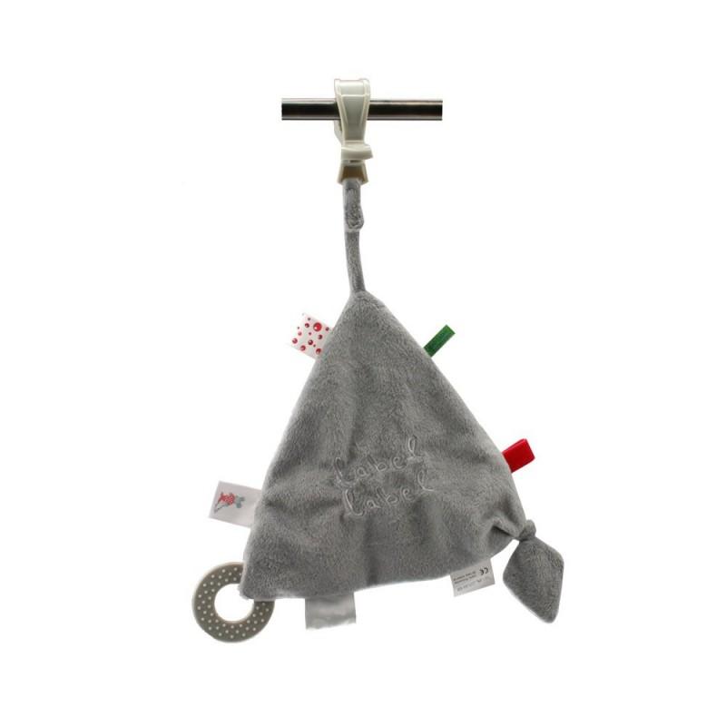 LABEL-LABEL - Hracia deka so štipcom, šedá