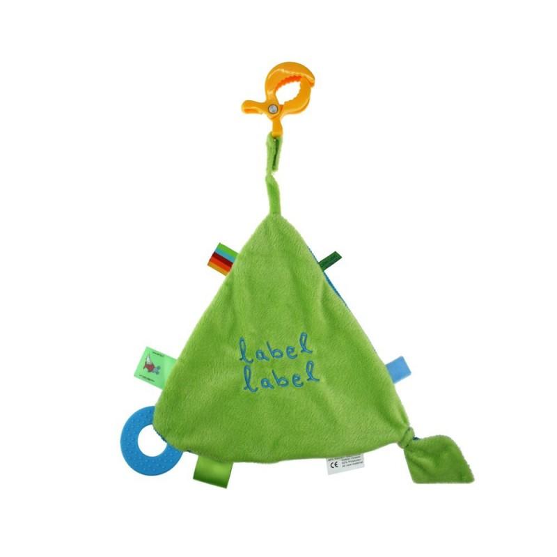 LABEL-LABEL - Hracia deka so štipcom, zelená