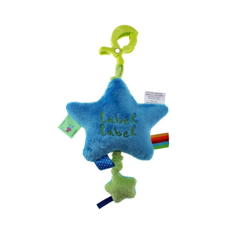LABEL-LABEL - Hudobná hviezdička na zavesenie, modrá