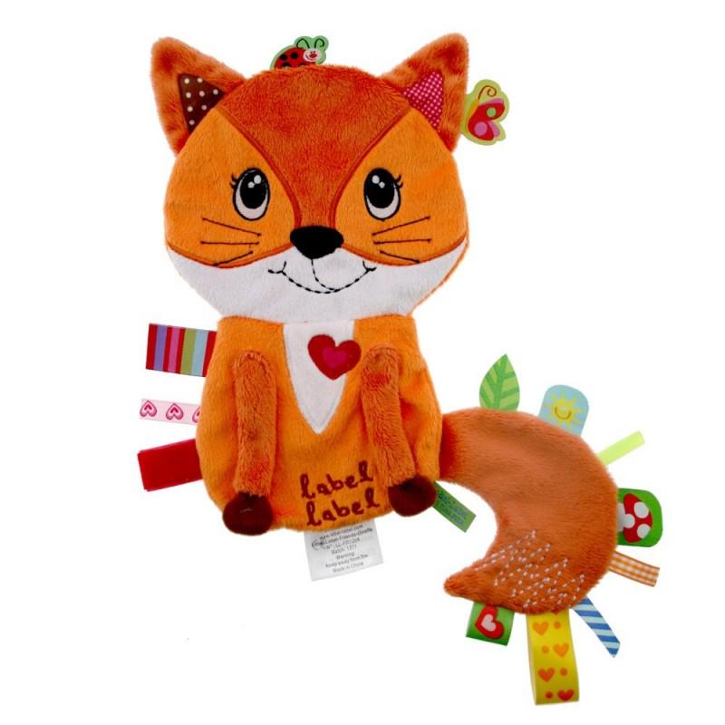 LABEL-LABEL - Lišiak, oranžový