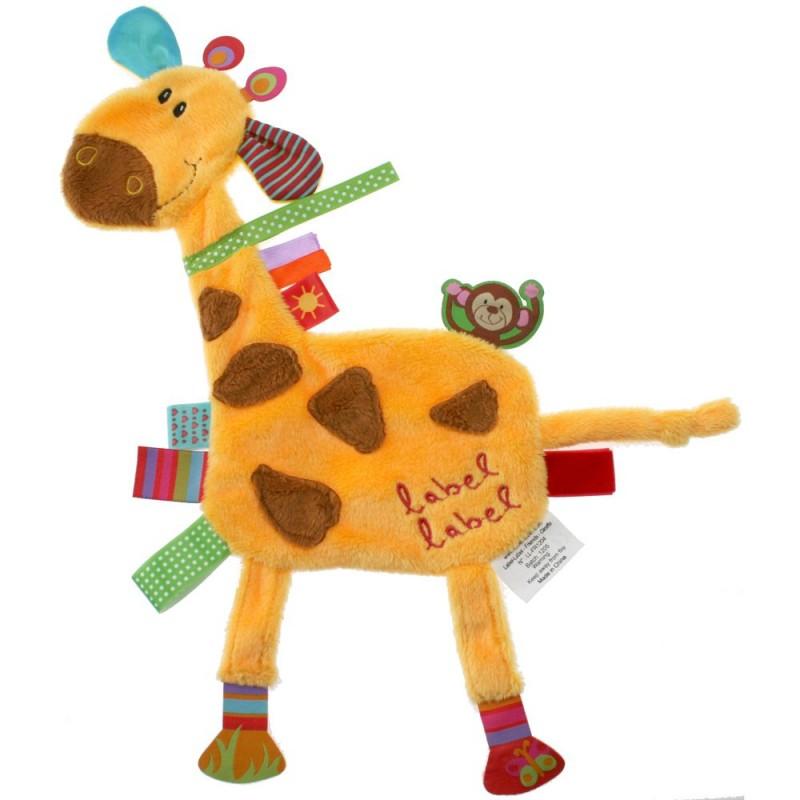 LABEL-LABEL - Žirafka, žltá