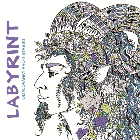 Labyrint - Omalovánky proti stresu - Richard Merritt, Sabine Reinhartová