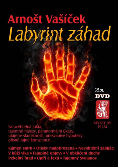 Labyrint záhad - 2 DVD - Arnošt Vašíček