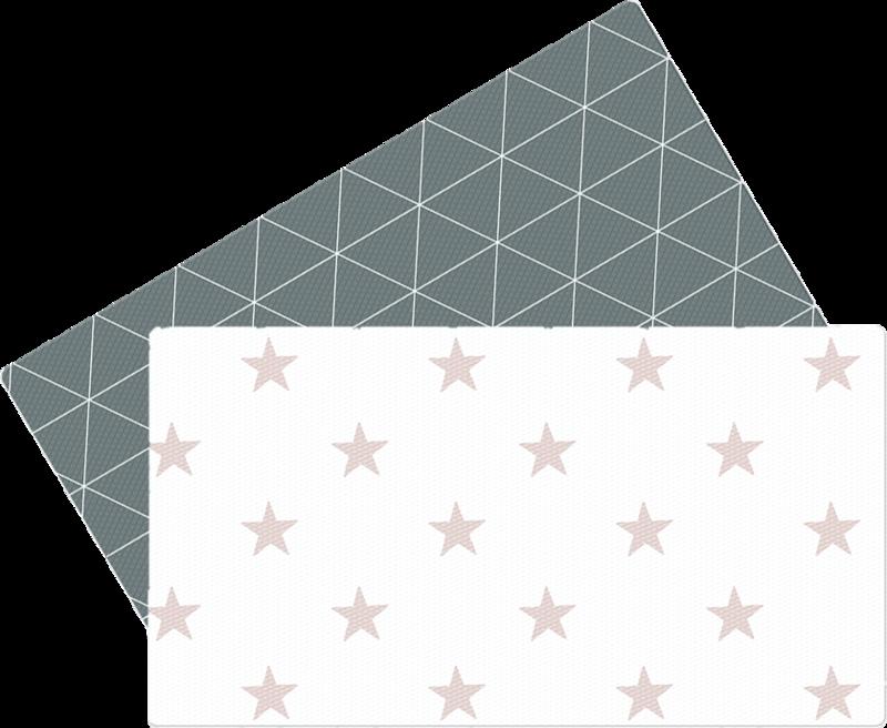 LALALU - Hracia podložka do kuchyne - Grey Star
