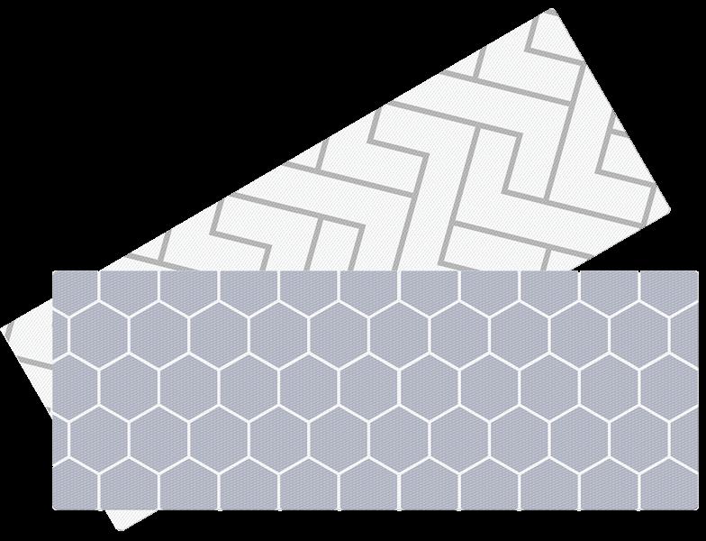 LALALU - Hracia podložka do kuchyne - Hexagon