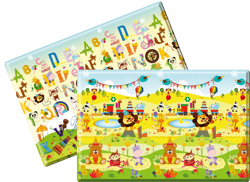 LALALU - Podložka na hranie Premium S - Happy Birthday