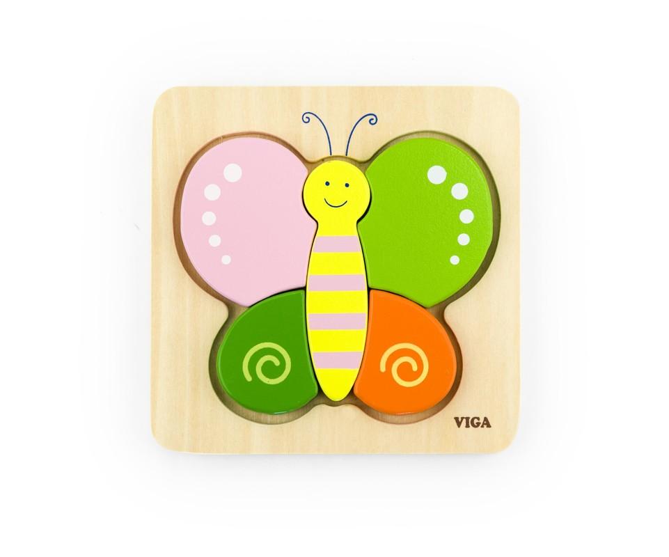 LAMPS - Puzzle pre najmenších motýľ