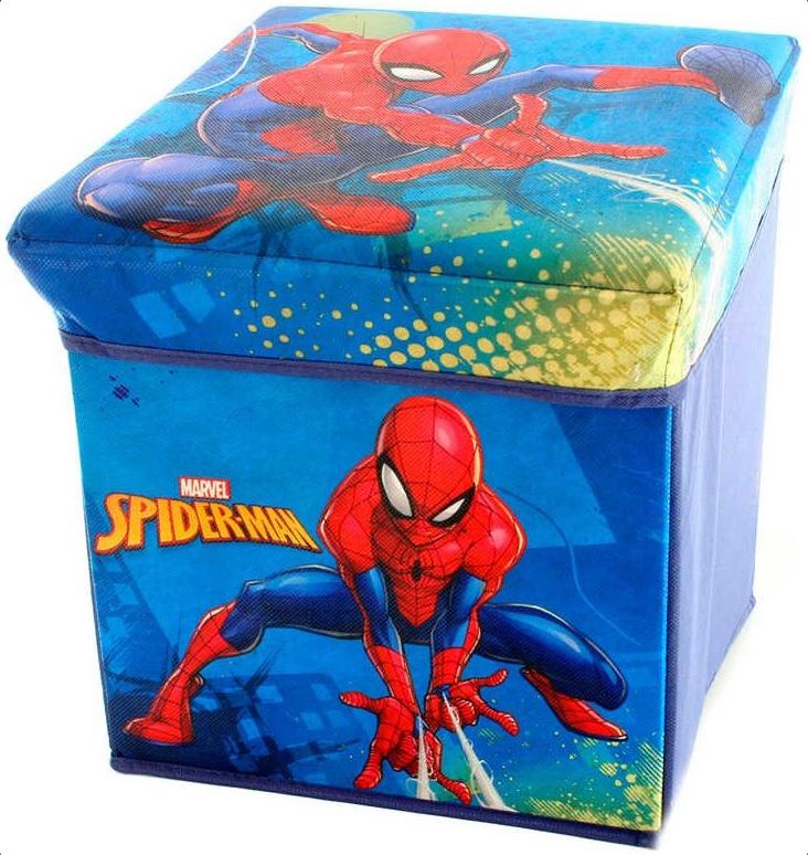 LAMPS - Skladací box Spiderman 32x32x32cm