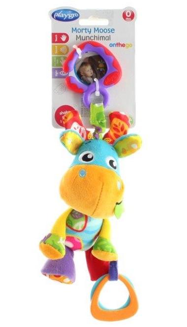 LAMPS - Zvieratko Morty na zavesenie s hryzátkom