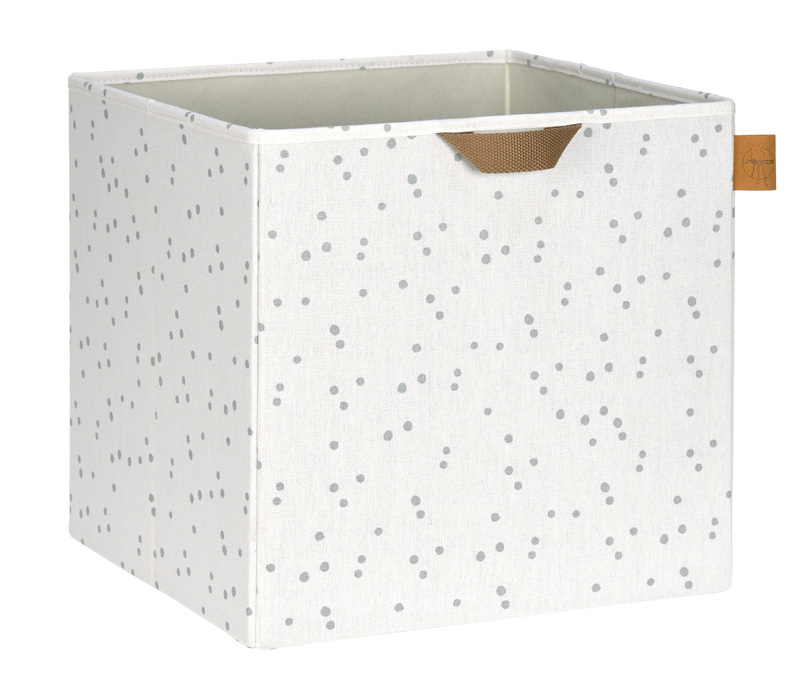 LÄSSIG - box na hračky, Toy Cube Storage Allover Speckles